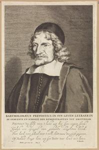 Portret van Bartholomeus Praevostius (1587-1669)