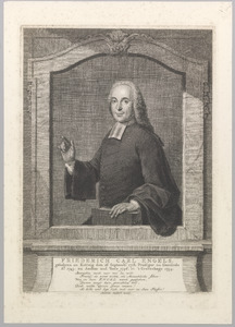 Portret van Friederich Carl Engels (1718-1765)