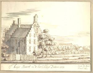 Landschap met het huis Baarle in Didam