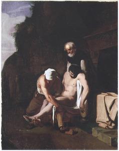 Het begraven der doden: een van de werken van barmhartigheid