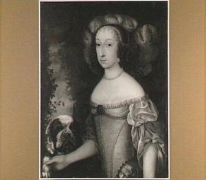 Portret van Elisabeth, landsgravin van Hessen-Kassel