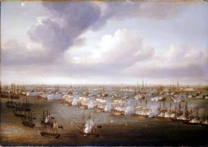De slag van Kopenhagen, 2 april 1801