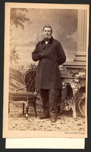 Portret van dhr. J. Breen