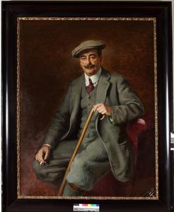 Portret van Hans Willem baron van Pallandt (1866-1929)