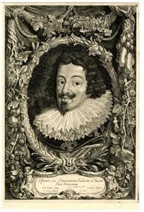 Portret van Lodewijk XIII (1601-1643)