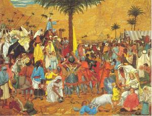 De vlucht uit Egypte