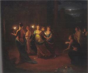 De vijf wijze en de vijf dwaze maagden