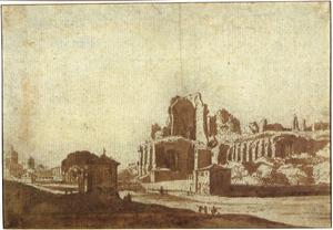 Het Circus Maximus op de Palatijn in Rome