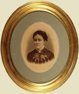 Portret van Cornelia Abrahamina de Neufville (1831-1886)