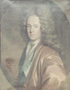 Portret van Lambertus Lenting (1688-1734)