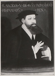 Portret van Karel V van Habsburg (1500-1558)