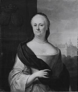 Portret van Geertruid Cornelia Bartolotti van den Heuvel ( -1775)