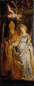 Heilige Eligius en de Heilige Catherina van Alexandrië