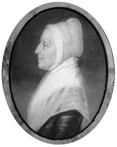 Portret van waarschijnlijk Constantia Sophia Crans ( -1812)