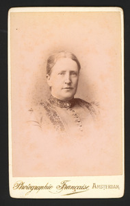 Portret van Christina Regina van Geuns (1848- )