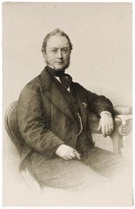 Portret van Balthazar Theodorus baron van Heemstra (1809-1878)