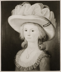 Portret van Jacoba Maria van Tets (1772-1848)