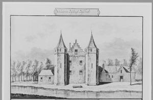 Voorzijde (?) van Zijl (ook wel Zijlhof) bij Leiderdorp