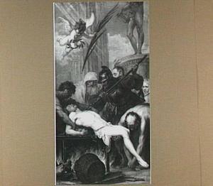Het martelaarschap van de H. Laurentius