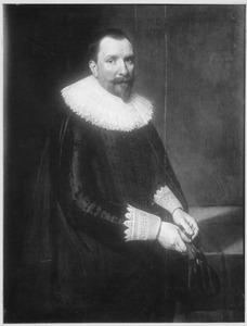 Portret van Ewout van der Dussen (1574-1653)