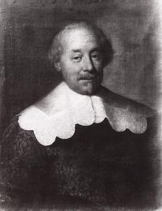 Portret van een man, mogelijk Daniel Hoeufft (1617-1670)