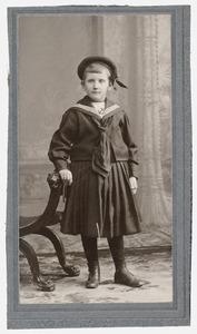 Portret van Gon Kouwenaar