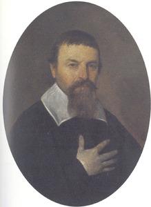 Portret van Eleazer Lootius (1595-1668)