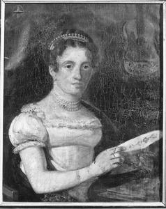 Portret van Martina Adriana Maria van Toulon (1792-1880)