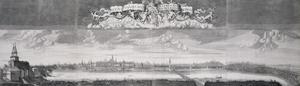 Panorama van Moskou gezien vanaf de Stenen Brug