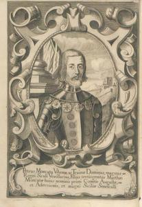 Portret van Petrus Moncata