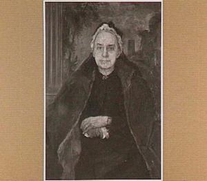 Portret van Elisabeth Tutein Nolthenius (1825-1902), dochter van Joh. Jac. en Alieda Marie Wolterbeek, te Weimar