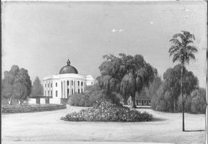 Reis van Suez naar Nagasaki via Oost-Indië: Het paleis van de Gouverneur-Generaal te Buitenzorg