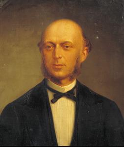 Portret van Israel van Samuel Mulder (1827-1877)