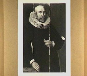 Portret van Viglius Zuichemius van Aytta (..-1635), echtgenoot van Focckel Ruurtsdr. van Roorda