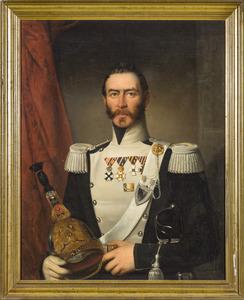 Portret van Franciscus Antonius Josephus Carolus baron van Voorst tot Voorst (1801-1883)