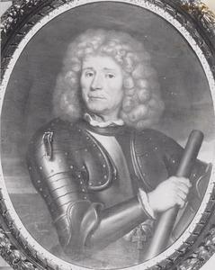 Portret van Willem Bastiaansz. Schepers (1620-1704)