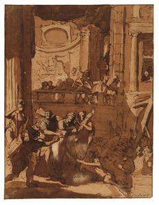 Pilatus toont Christus aan het volk (Ecce Homo)