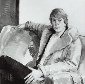 Portret van Ernst van Tiel