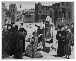 De Tiburtijnse Sibille voorspelt de komst van Christus aan Keizer Augustus