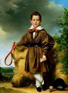 Portret van Jan Philip Francois van der Vinne (1825-1843)