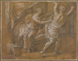 Jozef en de vrouw van Potiphar