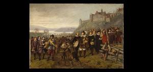 De stichting van Christiania door Christian IV