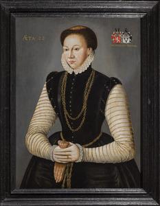 Portret van Anna van Bemmel (1552-?)