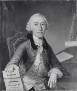 Portret van Cornelis de Perponcher Sedlnitsky (1733-1776)