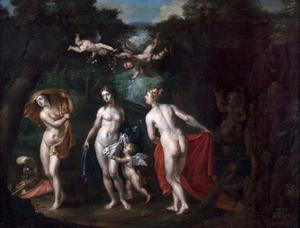 De drie godinnen, Athena, Venus en Juno
