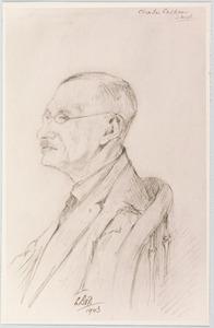 Portret van Charles Calkoen (1873-1963)