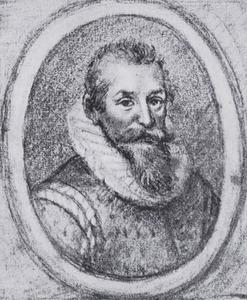 Portret van Arnoldus van Buchell (1565-1641)