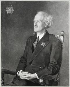Portret van Albertus Jacobus de Greve (1878- )