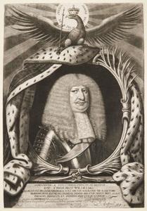 Portret van Friedrich Wilhelm Kurfürst von Brandenburg (1620-1688)