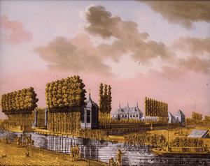De buitenplaats Soelen aan de Haarlemmer trekvaart